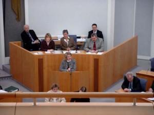 Foto Rede vor Plenum Landtag RLP