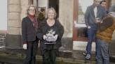 Integrationsministerin Irene Alt besucht das Café Asyl in Daun