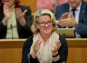 Die letzte Sitzung im Landtag in Mainz vor Beginn der Renovierungsunterbrechung aufgenommen am Donnerstag (17.12.2015) Foto: Torsten Silz/Landtag RLP